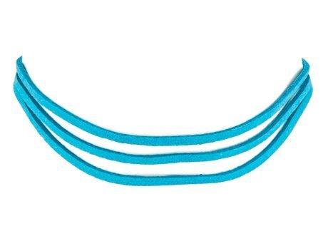 Bransoletka rzemyk niebieska