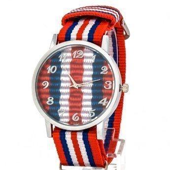 Zegarek kolor czerwony I