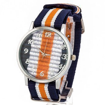 Zegarek kolor granatowy