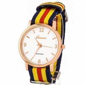Zegarek mięciutki żółty