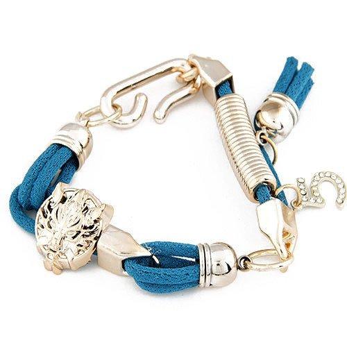 BRANSOLETKA LION BLUE